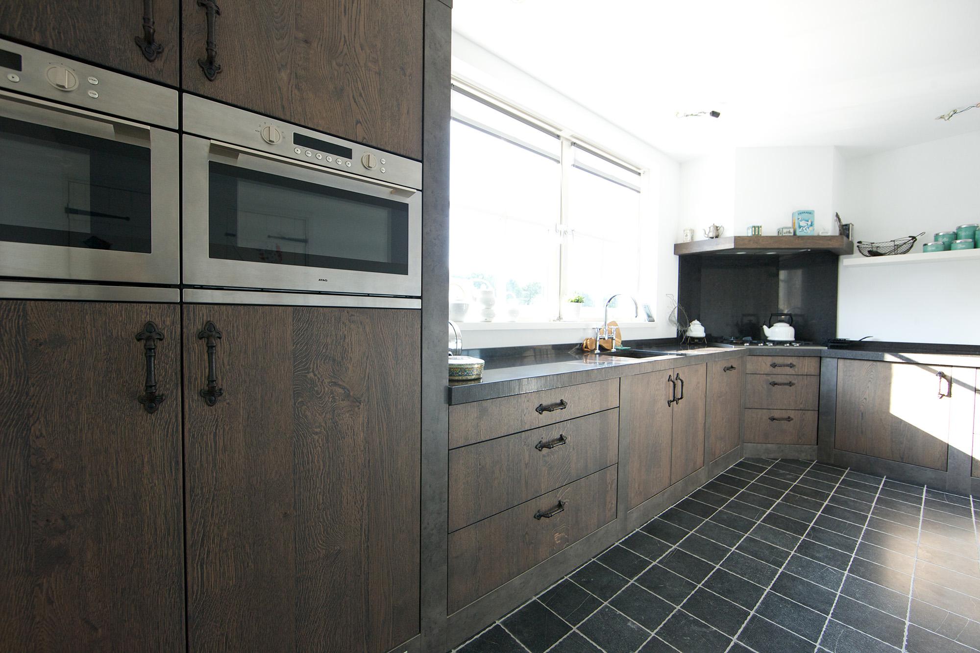 Keuken Handgrepen Koper : Industri?le Keuken Forest Keukens