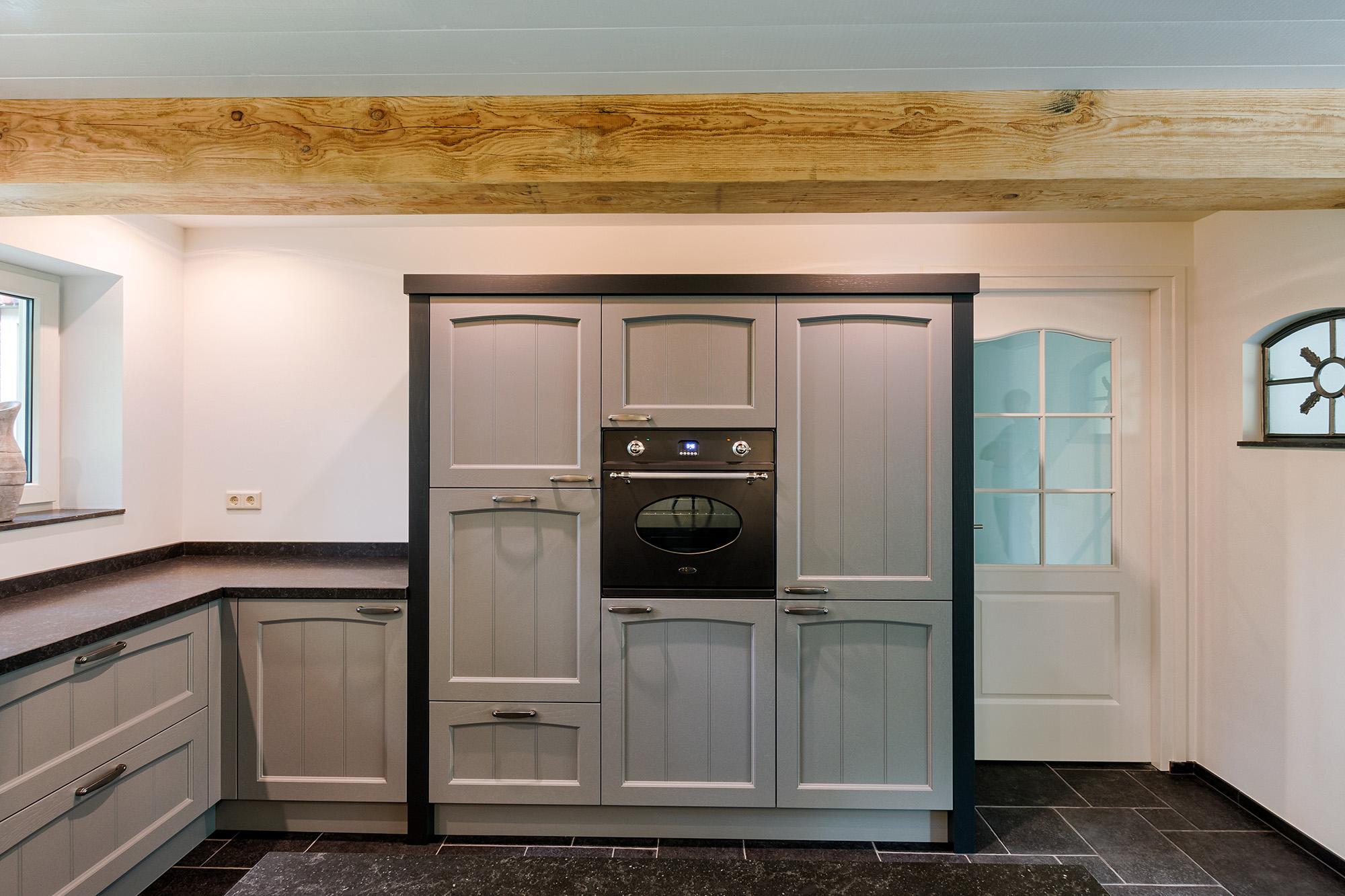 Keuken blauw grijs inspiratie het beste interieur - Keuken grijs en blauw ...